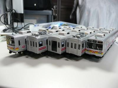 東急8090系 模型