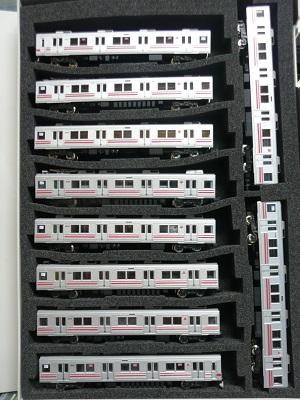 東急8590系 模型