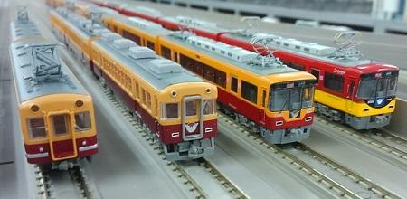京阪電鉄 鉄道模型