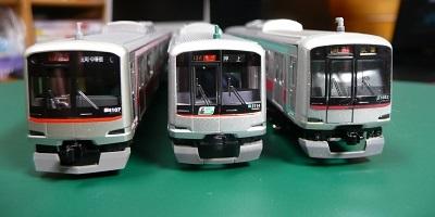 東急5000系シリーズ 模型