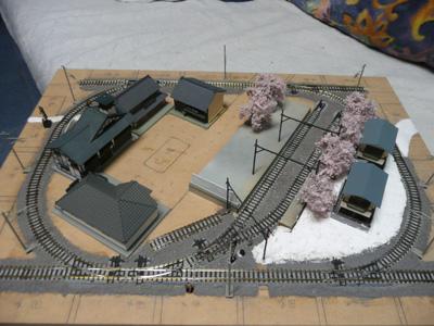 別所線 鉄道模型レイアウト