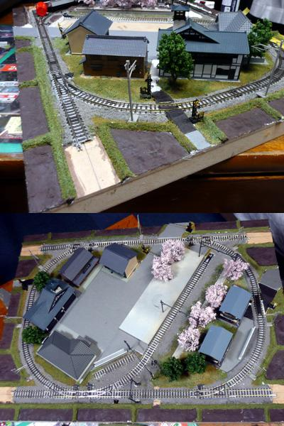 上田電鉄 別所線 鉄道模型レイアウト