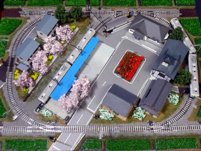 上田電鉄 別所線 鉄道模型  レイアウト